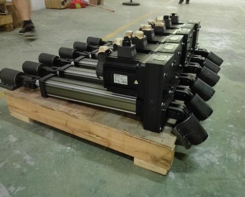 六自由度平台用电动缸