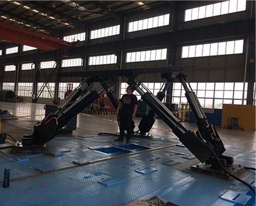 5吨负载  海上钻井平台模拟用